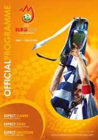 EM 2008 Österreich / Schweiz - Offizielles Programm der UEFA (engl. Edition)