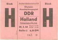 DDR - Niederlande