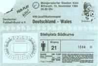 Deutschland - Wales