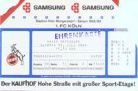 1. FC Köln - Bayer Uerdingen