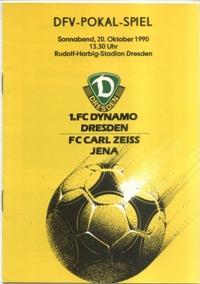 1. FC Dynamo Dresden - FC Carl Zeiss Jena