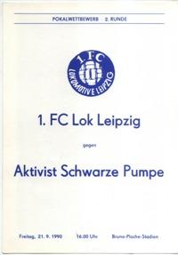 1. FC Lok Leipzig - Aktivist Schwarze Pumpe