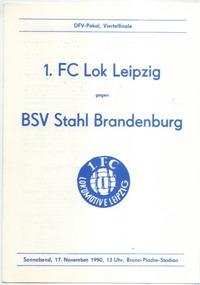 1. FC Lok Leipzig - BSV Stahl Brandenburg