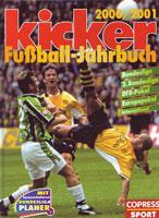 kicker Jahrbuch des Fußballs 2000/01