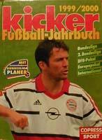 kicker Jahrbuch des Fußballs 1999/2000
