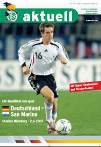 Frankreich France 15.11.2003 DFB-Aktuell 8//2003 Deutschland